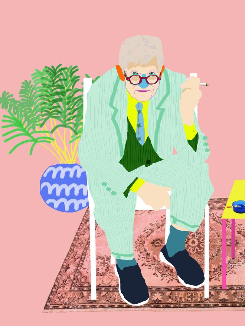'Hockney Breather'