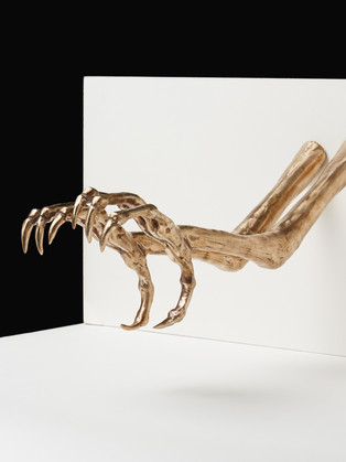 Talons Bronze by Roseanne Connolly