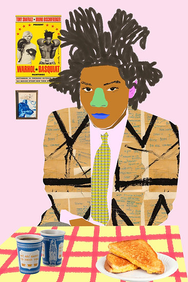 'Basquiat's Break' by Dan Jamieson