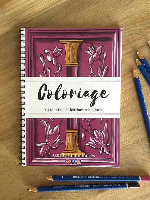 Coloriage - Ma sélection de lettrines enluminées