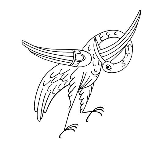 Cours à télécharger - Oiseaux à travers les siècles - Style Carolingien