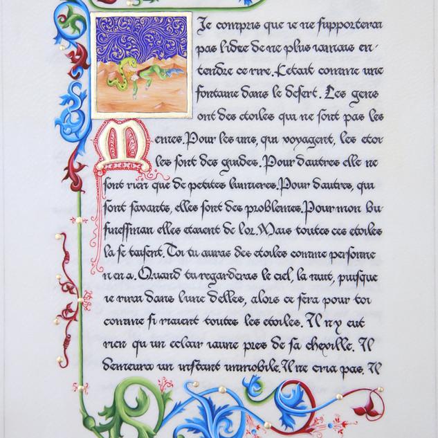 Création Le Petit Prince