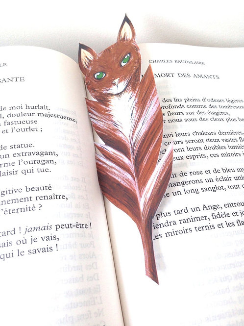 Marque-page - Renard