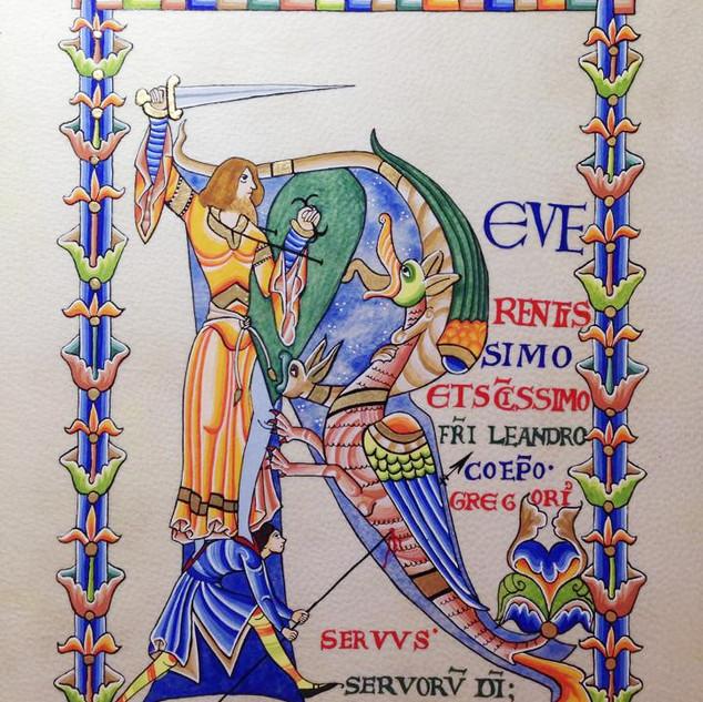 Reproduction Manuscrit de Cîteaux