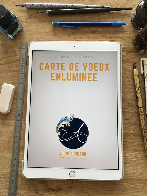 E-Book Carte de Voeux Enluminée