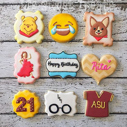 Happy 21st Birthday, Rita!  Some of her favorite things