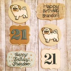 My son's 21st birthday today..