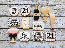 Happy 21st Birthday, Courtney!  She loves herself some Drake! _champagnepapi
