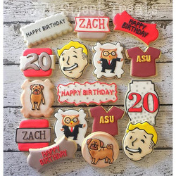 Happy Birthday, Zach!  A few of his favorite things..
