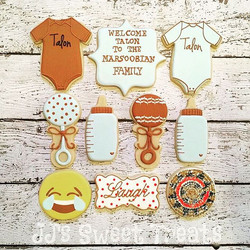 A Navajo tradition, a celebration commemorating baby Talon's first laugh