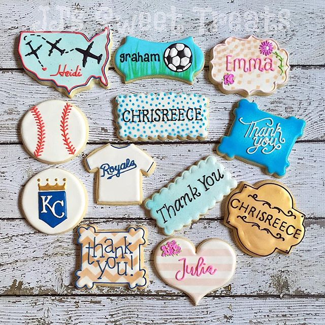 Nothing better than saying thank you with cookies! _#customcookies #decoratedcookies #decoratedsugar