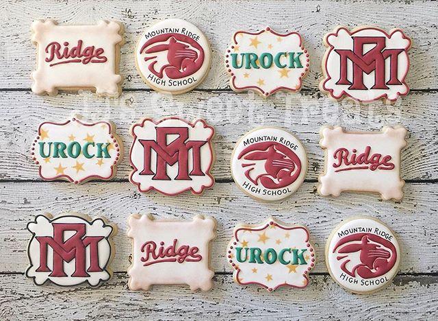 Mountain Ridge High School cookies..