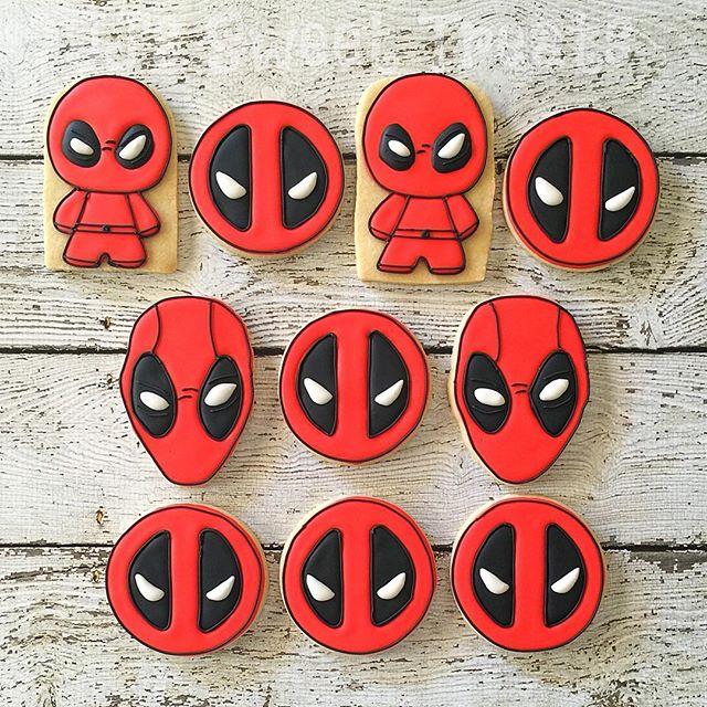 #Deadpool cookies