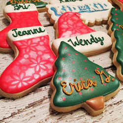 #christmascookies for a work holiday party tonight