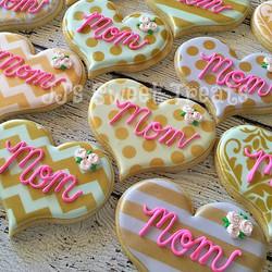 Happy Mother's Day! ___________#customcookies #decoratedcookies #decoratedsugarcookies #sugarcookies