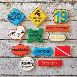 Happy Birthday, Jacob!  A few of this Marine's favorites