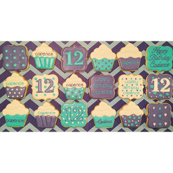 Happy Birthday to my niece Cadence _luv_2_dance92!  #customcookies #decoratedcookies #sugarcookies #