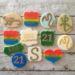 Favorites for her 21st birthday. Happy Birthday, Sam!  Thank you, _kristidemarco