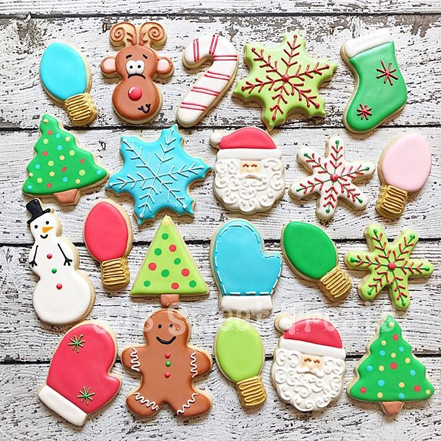 Christmas cookies are my favorite! 🎄🎅🏻❄️
