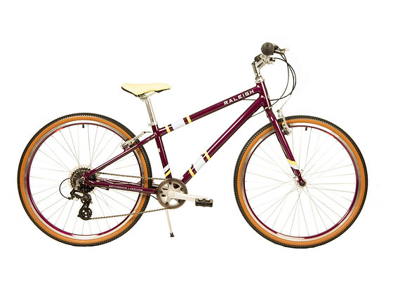 Raleigh Pop 26 MAROON PURPLE