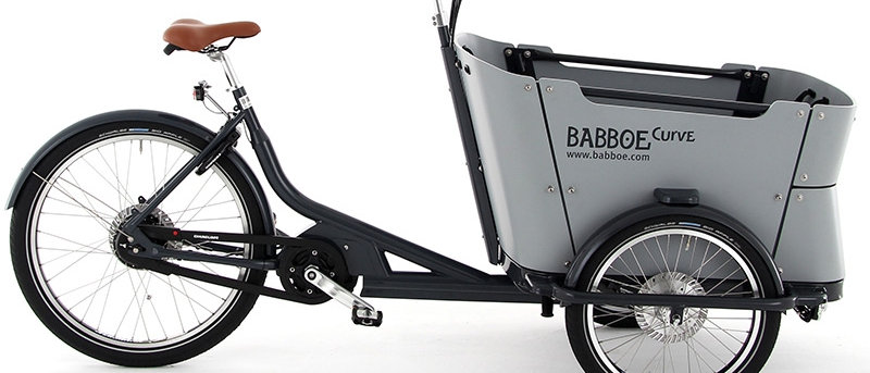 Babboe Curve Mountain Cargo Bike Black