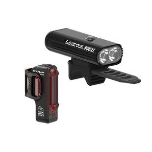 Lezyne Micro Pro 800XL and Pro Strip Drive Light set
