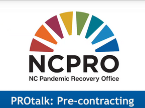 VIDEO: Pre-Contracting Process for N.C. Municipalities