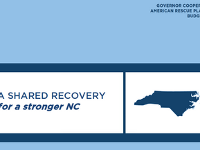 Gov. Cooper Releases ARP Investment Recommendations
