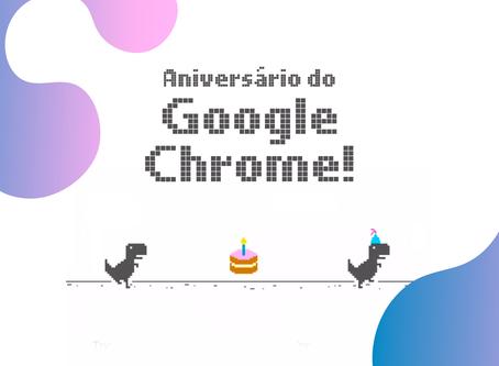 Google Chrome está de aniversário!