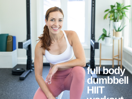 Full Body Dumbbell HIIT Workout
