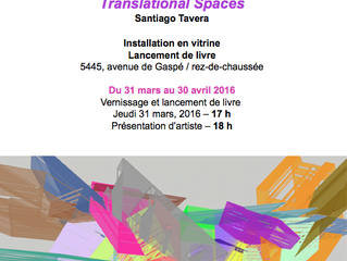 Translational Spaces Exhibition at agenceTOPO