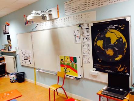 Une école connectée aux nouvelles technologies !