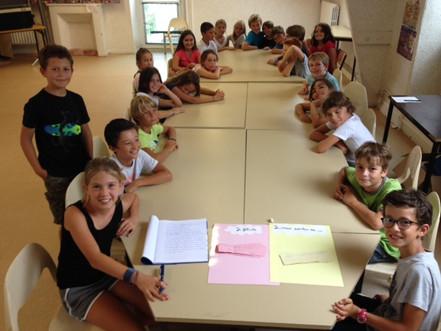 Conseil de coopération en classe de CM