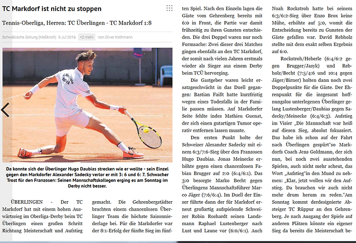 Leistungssport Tennisbase TenniscampTennis Bodensee