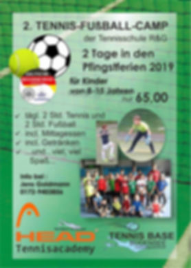 Fußball Tennis Ferien Camp 2019