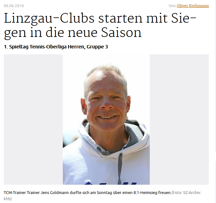 Leistungssport Tennis Bodensee