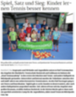 Head Tennisacademy Tenniscamp 2017