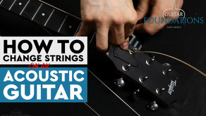 How to Change Strings on the Acoustic or Electric Guitar