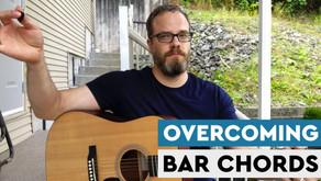 Overcoming Playing Bar Chords