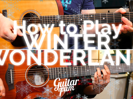 "How to Play ""Winter Wonderland"" on Guitar"