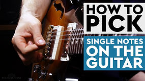 Picking Single Notes