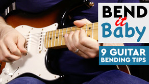9 Tips for Learning How to Bend on the Guitar
