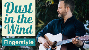 How to Play Dust in the Wind - Fingerstyle Guitar Lesson