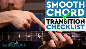 How to Change Chords Smoothly on the Guitar