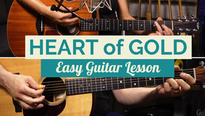"""""""Heart of Gold"""" - Easy Guitar Lesson"""
