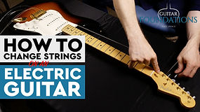 Changing Electric Strings