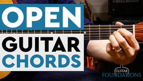How to Play Open Chords on the Guitar
