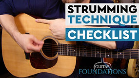 Strumming Foundations