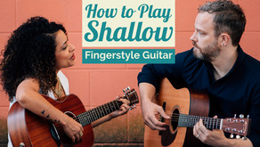 How to Play Shallow - Fingerstyle Guitar Lesson