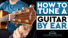 How To Tune The Guitar By Ear